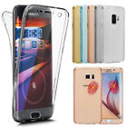 360 Clear Transparent Soft Silicone Case Cover For Samsung Galaxy J4 J6 2018 A6