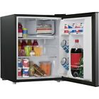 Mini Fridge with Freezer Refrigerator Dorm Room Party Cooler Small Office 2.7 Cu