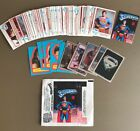 Superman Trading Cards. Set Of 77 Topps Cards. 1978. +11 Stickers