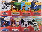 2018 Hot Wheels MICKEY MOUSE 90th ANNIVERSARY Walmart Excl COMPLETE 8 Car Set