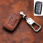Car Remote Key Fob Holder Chain Case For Jaguar Xf X260 F-pace X761 2016-2018