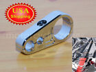 Motorcycle Bike Chrome Brake Clutch Cable Wire Holder Clamp Clip For 1