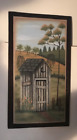 HIS Rustic COUNTRY BATH Wood Bathroom Outhouse powder room wood decor Sign 7x13