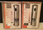 Peugeot Elis uSelect Electric Stainless Steel Salt  Pepper Mill Set