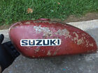 OEM gas tank from 1971 Suzuki T250 motorcycle