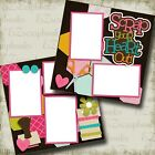 Scrap Your Heart Out 2 Premade Scrapbook Pages EZ Layout 3360