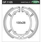 Front Brake Shoes Fit YAMAHA AG100 1988 1989 1990 1991 S4S
