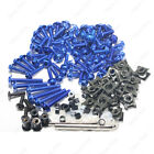 Blue CNC Fairing Bolt Kit Screw for Suzuki Hayabusa GSX1300R 2005 2006 US STOCK