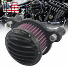 4 US Rough Crafts Air Cleaner Intake Filter For Harley Sportster 883 1200 88 16