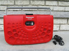 Panasonic Portable Stereo 8-Track Tape Player RS-833S 70's Swiss Cheese Style