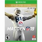 NFL MADDEN 19 HALL OF FAME EDITION (XBOX ONE) NEW & SEALED W FREE SHIPPING