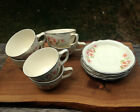 HOMER LAUGHLIN CUPS AND SAUCERS VIRGINIA ROSE