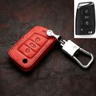 Car Remote Key Fob Holder Chain Case Bag For Volkswagen Polo 10-16 Tiguan 09-18