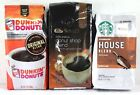 3 Coffee Bags Dunkin Donuts Starbucks Select Gold Ground Coffee 12 oz Bag