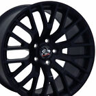19x85 Rim Fits Ford Mustang 2015 GT Style Satin Black Wheel 10036 W1X