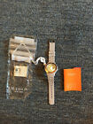 NWT Madison New York Candy Time XL Creme Brulee Unisex Silicone Dive Watch 44 mm