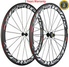 Carbon Wheels Campagnolo Hub 50mm Clincher Road Bike Bicycle Wheelset 700C Bike