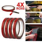 4 Rolls 3m Car Acrylic Plus Double Sided Attachment Tape Auto Truck Automotive