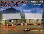 Logging Camp Portable Bunk House Kits Thomas Yorke Scale Model Masterpieces HOn3