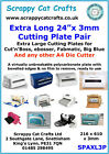 Extra Long Cutting Plates Pair 610x210x3mm eBosser by Scrappy Cat SPAXL3P 4
