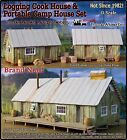 Scale Model Masterpieces Yorke Logging Camp Cook Bunk House Set SMM08