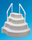 Grand Entrance Model 400700 Above Ground Swimming Pool 4 Tread Entry System Step