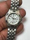 Ladies Silver Tone Calypso 5 ATM Analog Watch With Date Feature