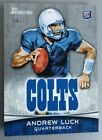 2012 Topps Bowman Signature Andrew Luck RC Rookie Silver Parallel 99 Non Auto
