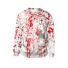 New Blood Stain Doctor's Costume Cospaly  Halloween Horror Costume Weater