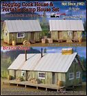 Logging Camp Cook Bunk House Set Thomas Yorke Scale Model Masterpieces On3 NEW