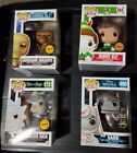 Funko Pop Chase Lot of 4. Weaponized Rick, Buddy Elf, Sark and Doghan Dagius.