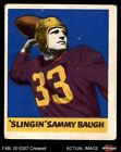 Sammy Baugh Rookie Cards Guide and Checklist  8