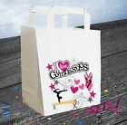 I Love Gymnastics Party Bags (Pack of 6) Loot / Goody Bag Girls Birthday