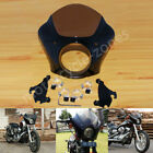 USA Gauntlet Fairing W/ Bracket Mount Kit For Harley Sportster XL1200 883 48 72