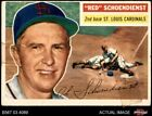 Top 10 Red Schoendienst Baseball Cards 21