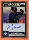 Jace Peterson RC Auto 2011 Playoff Contenders Rookie Ticket Autograph #RT47