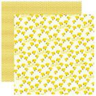 Reminisce Barnyard Buddies LIL CHICKS Scrapbooking Paper 12x12 Double Sided