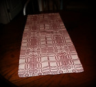 ~*Primitive Colonial Early Style~Wagon Wheel~Short Table Runner*~