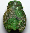 Antique Chinese Jade/Hard Stone Hand Crafted Pendant Statue