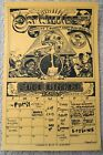OAT WILLIES APRIL 1981 SOAP CREEK ARMADILLO CALENDAR POSTER MUDDY WATERS NEVILLE