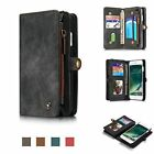 Leather Removable Wallet Magnetic Flip ID Card Slots Case Cover For iPhone 7 8