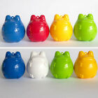 Bandai 2002 Frog style in winter Capsule Frog set of 8 Pcs. Christmas decoration