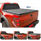 """New 6 Ft 72"""" Bed Soft Roll & Lock Tonneau Cover for Chevy S10/GMC Sonoma 94-2004"""