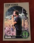 PEARL JAM Seattle Baseball Card - Eddie Vedder 7 crowd - 2018 safeco home shows
