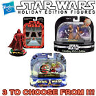 STAR WARS HOLIDAY EDITION FIGURES MOC BRAND NEW