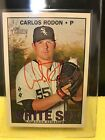 2016 Heritage Red Real One Carlos Rodon Auto