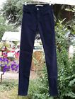 "Joe's Jeans Womens ""The Skinny"" Jeans Blue High Rise Waist Cotton Blend Size 24"