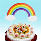 Rainbow Cake Topper Party Supplier Happy Birthday Candle Gift Cupcake Decoration