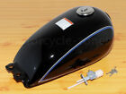 Universal Motorcycle Fuel Gas Tank For Suzuki GN125/250 Cafe Racer 2.4 Gallon 9L