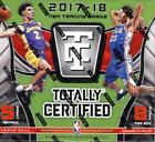 2017-18 Panini Totally Certified Basketball Factory Sealed Hobby Box